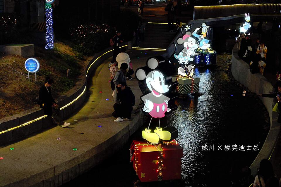 台中綠川聖誕節活動迪士尼