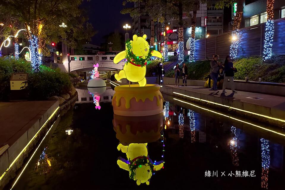 台中綠川聖誕節活動-小熊維尼