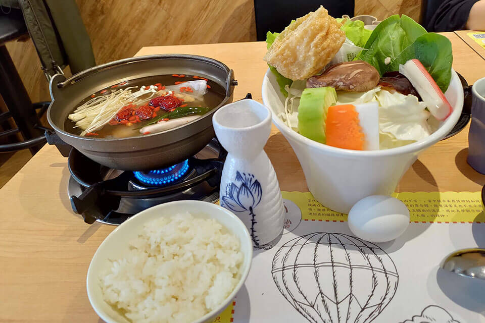 台中大樂鍋 古早味燒酒雞豬肉鍋 NT.289