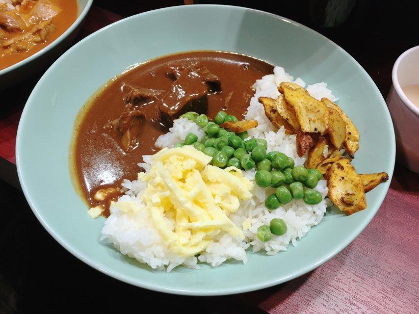 台中咖哩飯_志氣咖哩_多蜜牛肉咖哩飯