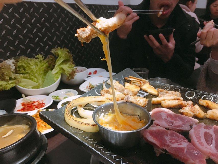 台中韓國烤肉_火板大叔