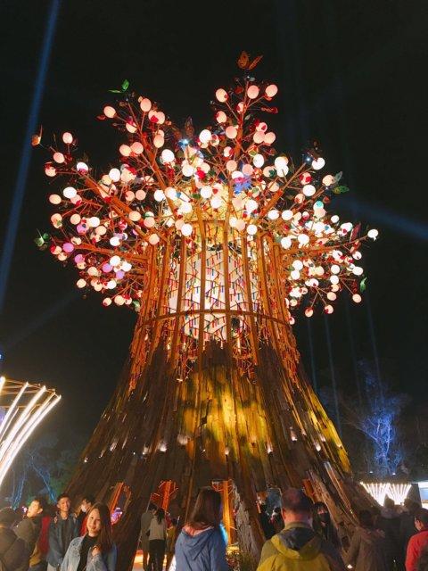 2020台中燈會_森生守護光之樹
