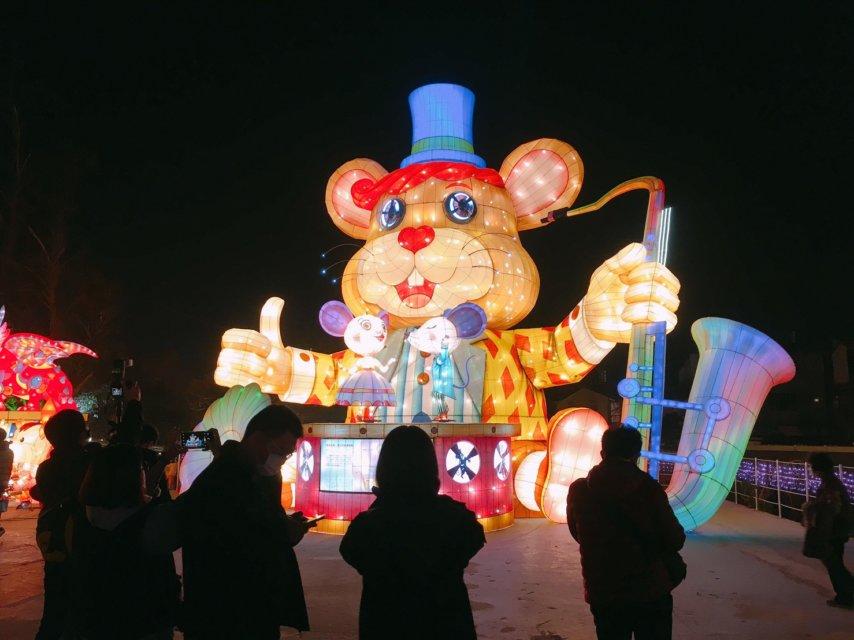 2020台中燈會_爵士好鼠喜迎親