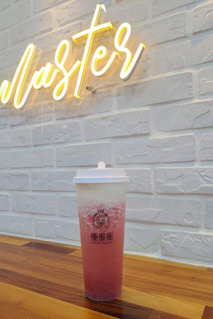 酸奶大獅 - 草莓酸奶蓋