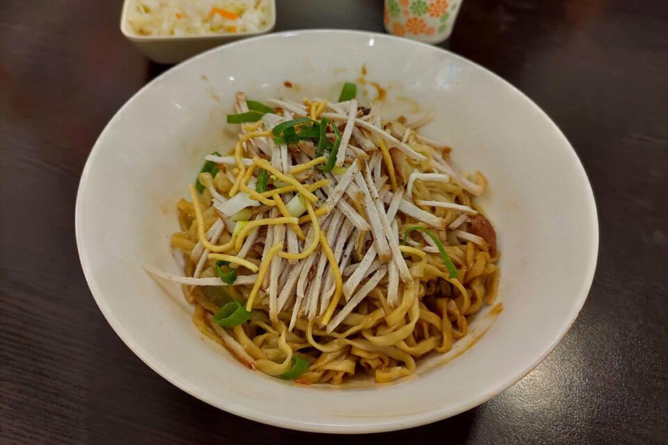 彰化特色美食雲南乾麵