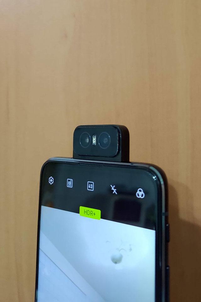 zenfone 6評價-翻轉鏡頭正面