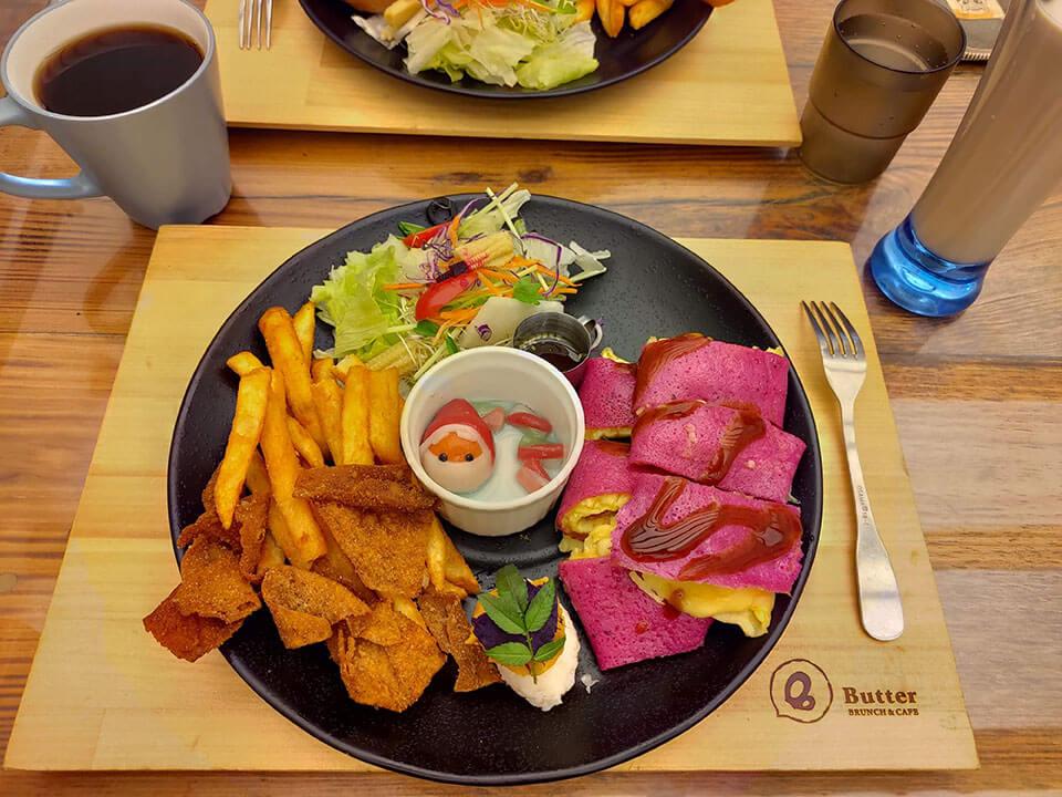 巴特彰化早午餐-彩色起司蛋餅