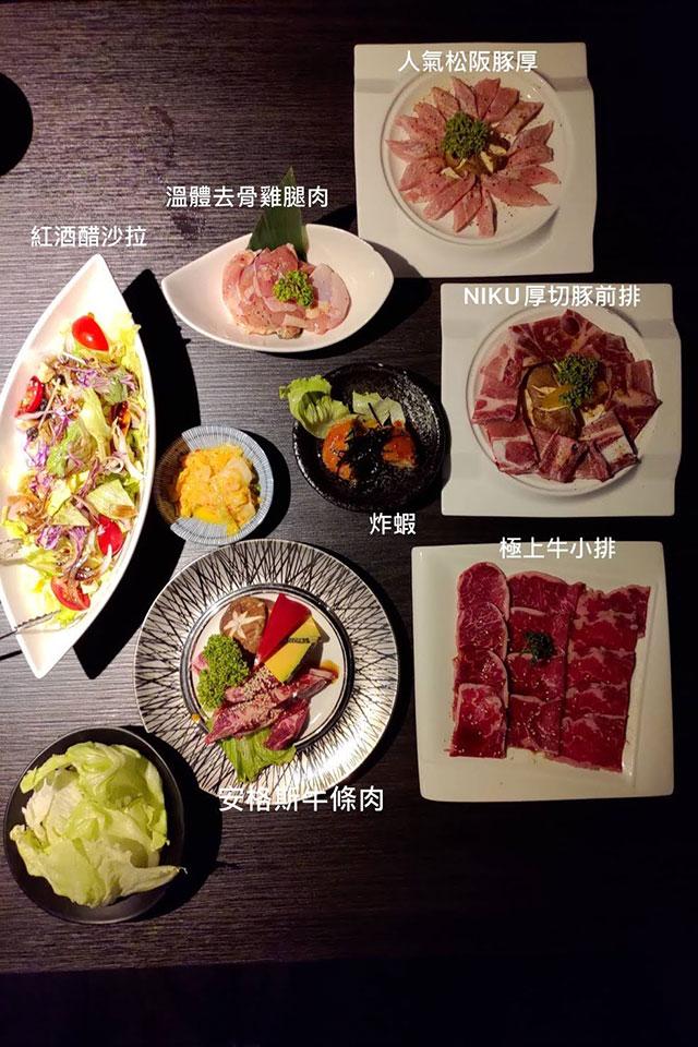 肉肉燒肉 - 安格斯套餐介紹