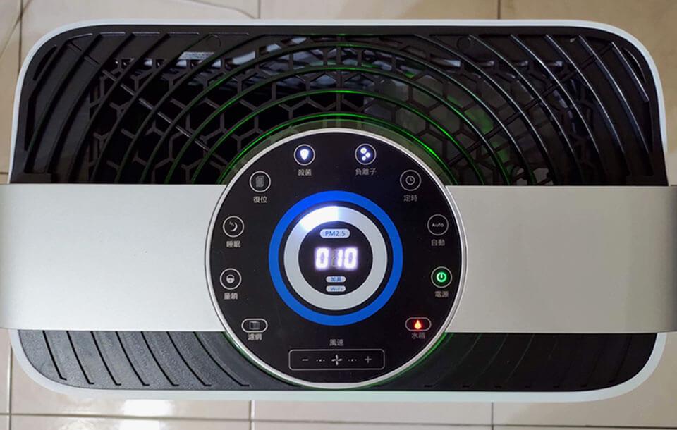 TiDdi空氣清淨機功能面板