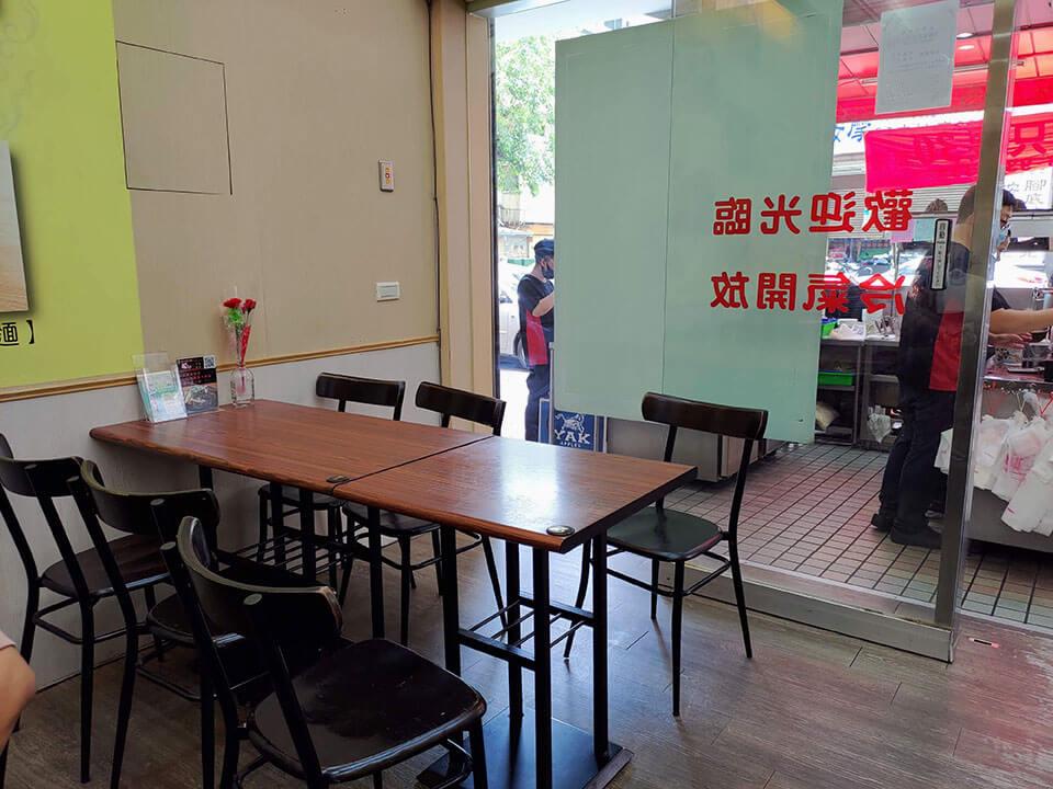 位在台中西區的洪師傅牛肉麵店