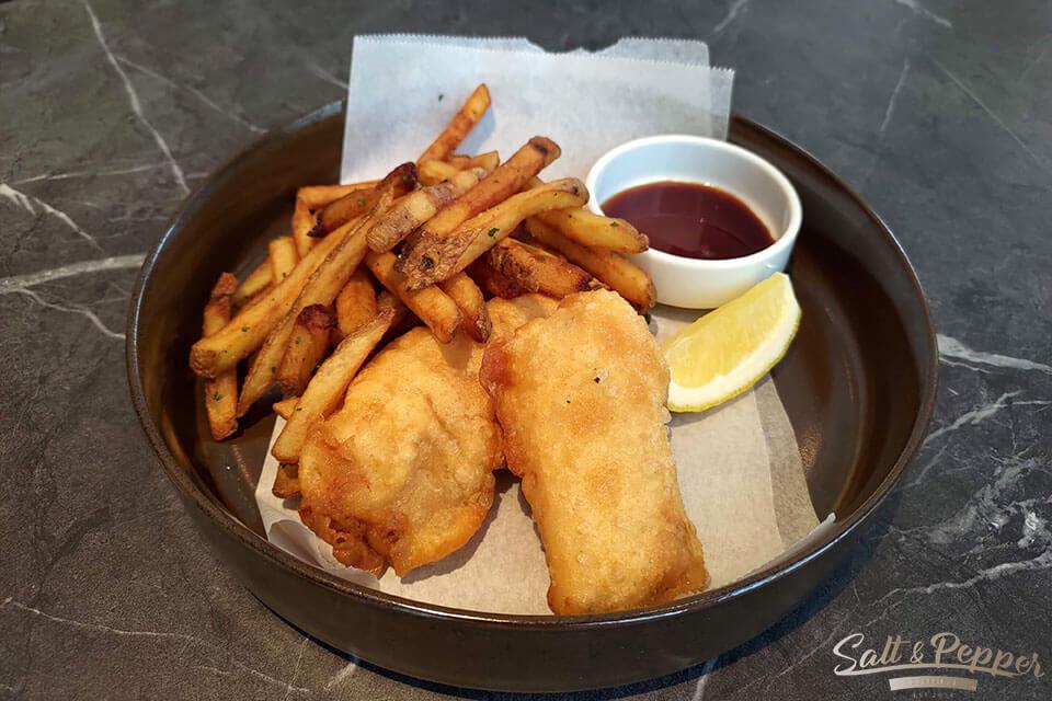 鹽與胡椒餐館-新鮮炸魚薯條