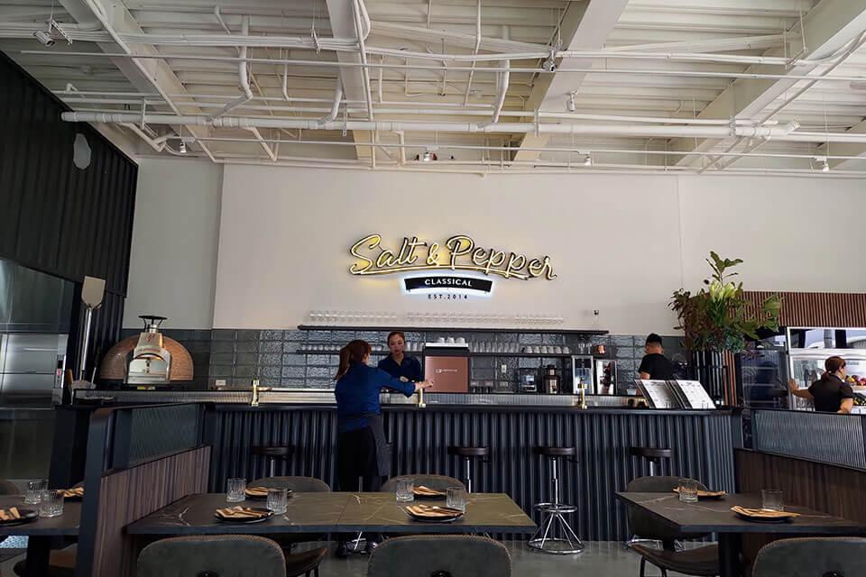 鹽與胡椒餐館-用餐空間