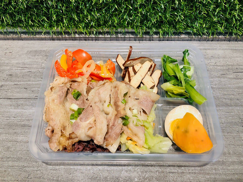 台中健身餐韓式烤牛肉 NT.120