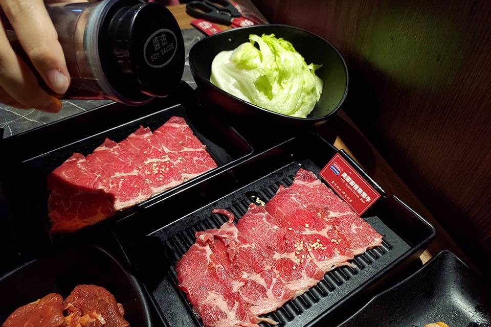 台中火烤兩吃安格斯黑牛