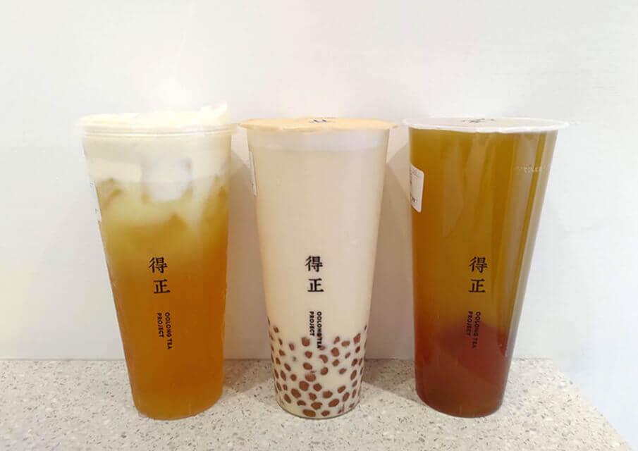 3款得正飲料