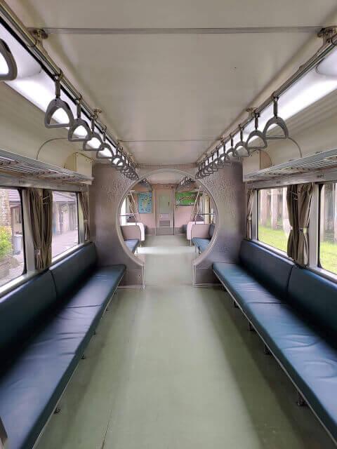 最後要和你分享的是平溪火車上的座位