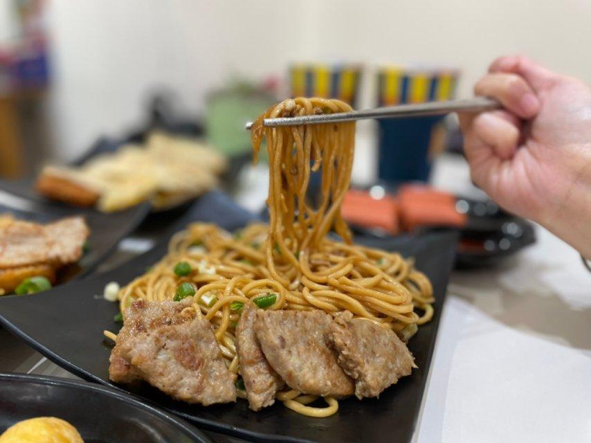 台中炒麵_曜喫早餐