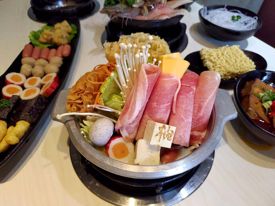 元氣牛奶鍋(牛肉) NT.170