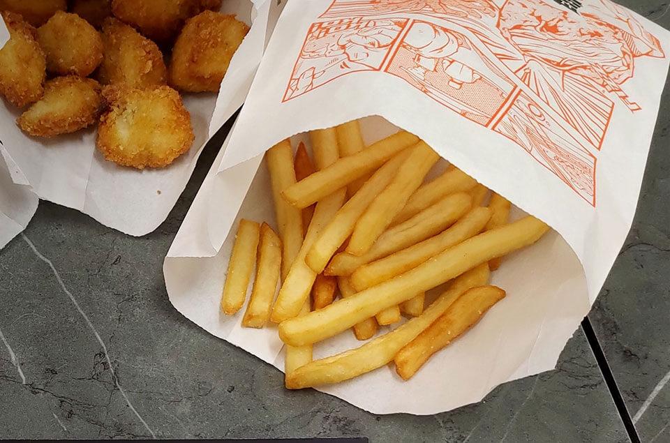 大里雞排-黃金細薯