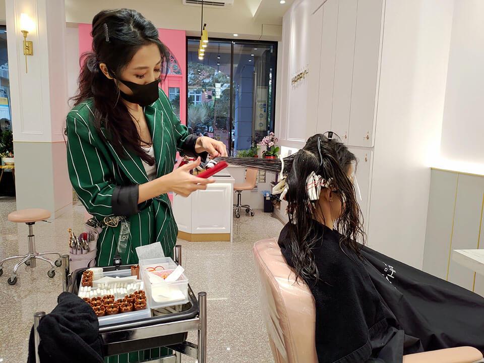 大里燙髮流程