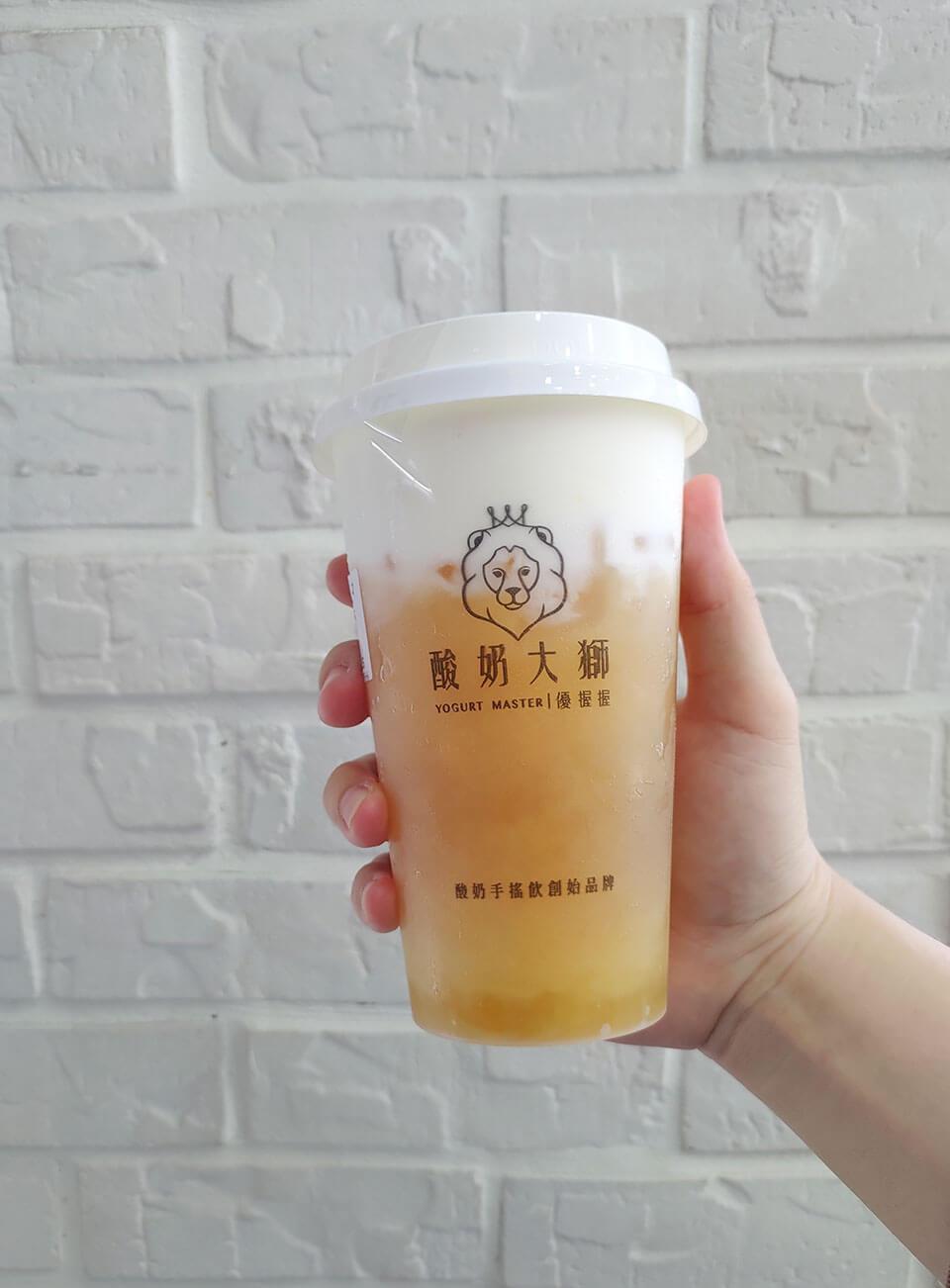 金柚蜜酸奶蓋 中 NT.55