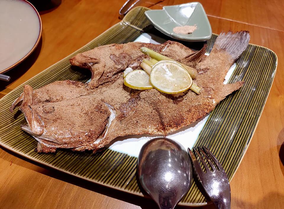 沐越-香茅嫩烤胡椒魚