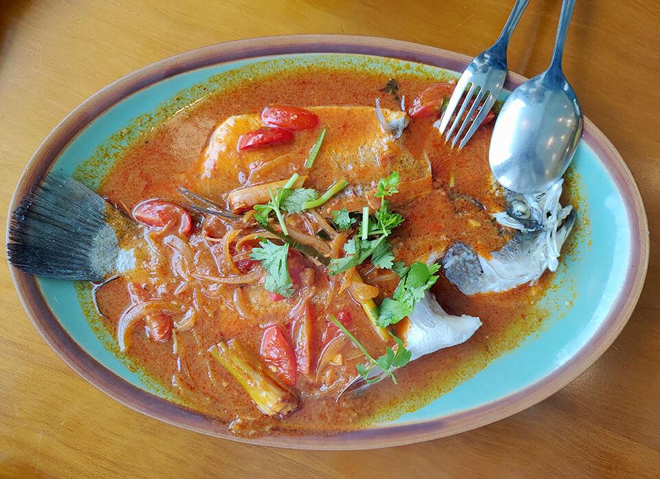 沐越-越式清蒸酸辣魚