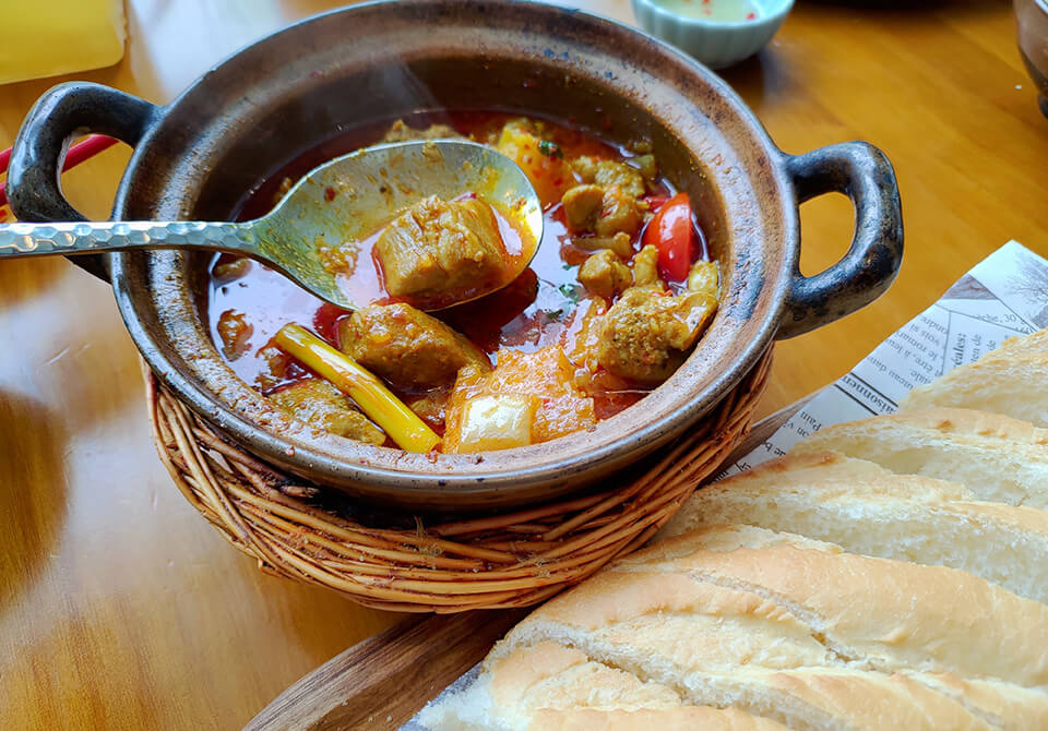 沐越-芽莊紅咖哩雞