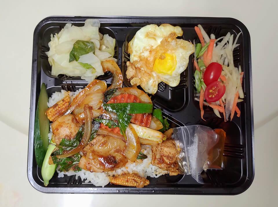 紅咖哩雞飯 NT.130
