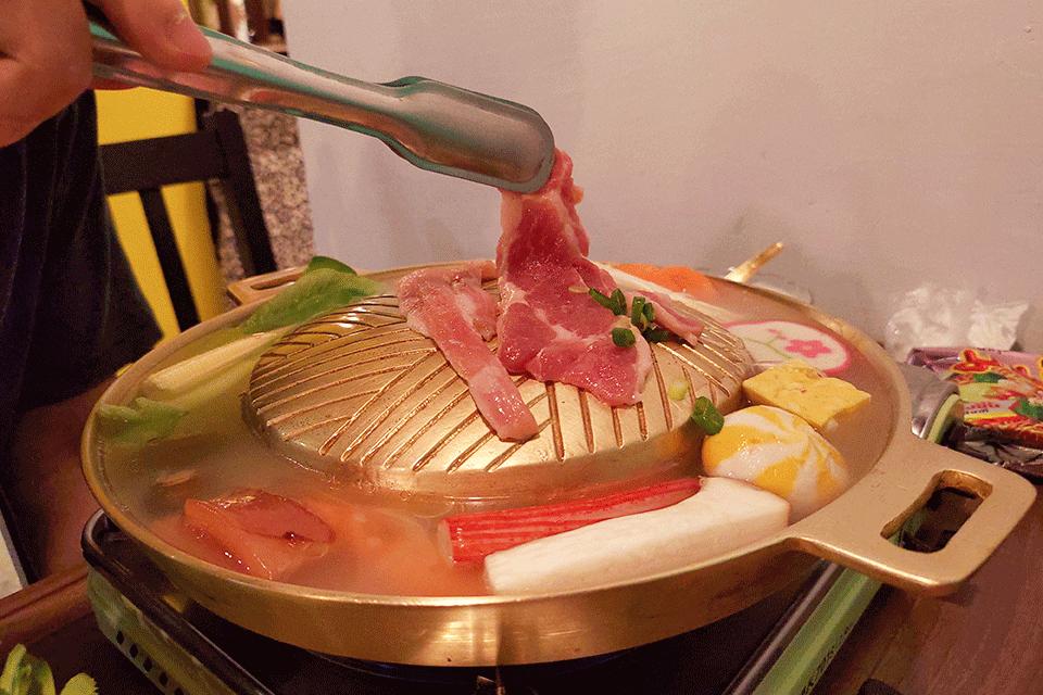 泰式銅盤豬肉
