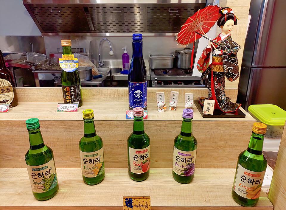 炸姬殿堂現場也有販售一些韓國的食品
