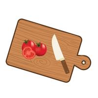 將番茄切片備用。