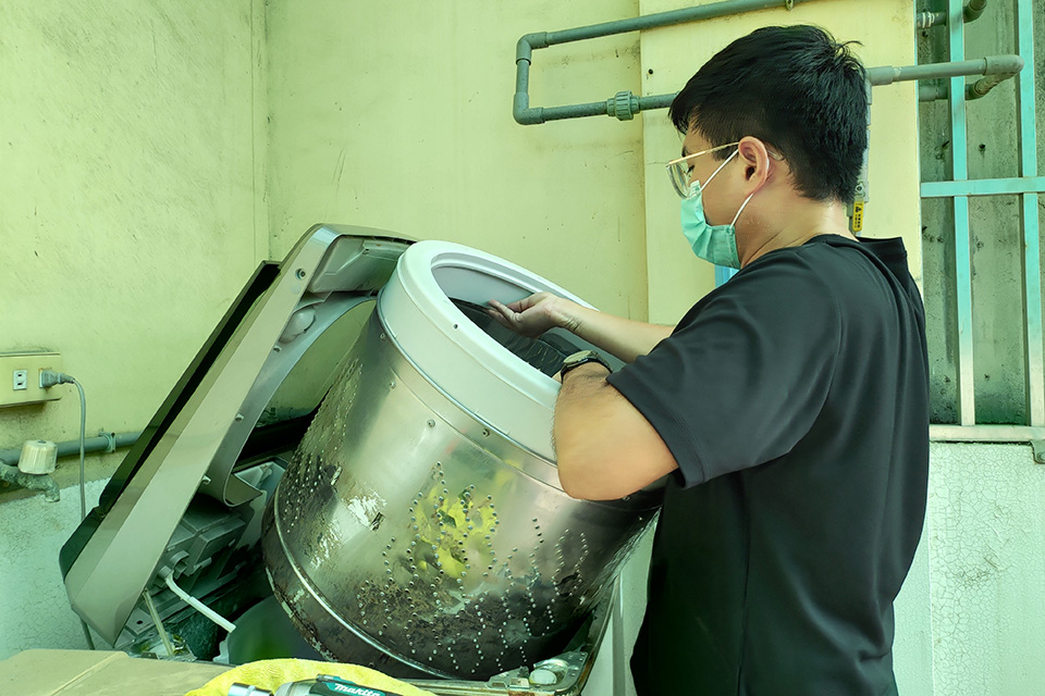 彰化洗衣機清洗清潔推薦